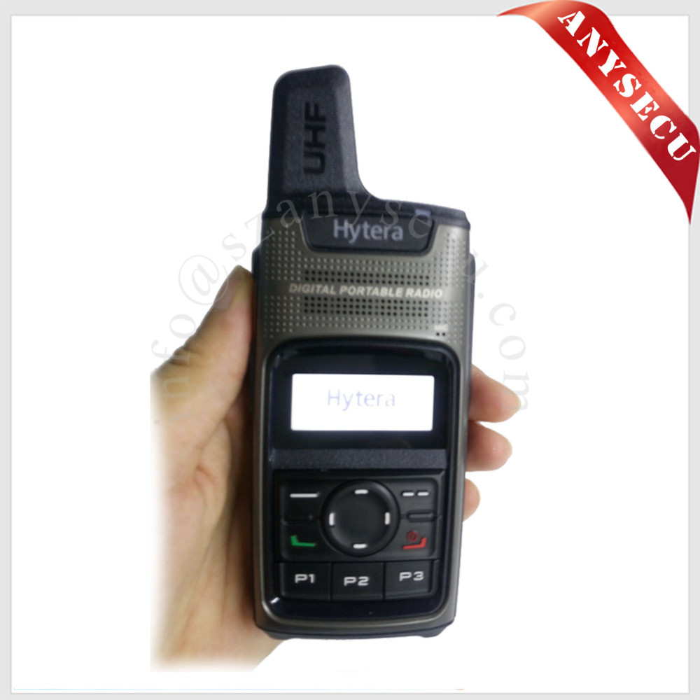 2016 Newest Hytera DMR digital radio PD375 with Micro USB port mini Handheld Two Way Radio