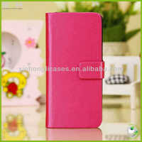 cheap full body pu leather cell mobile phone case