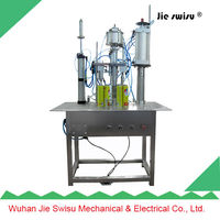 Aerosol spray filling and capping machine manufacture CJXH-1600 A,axe body spray deodorants filling machine