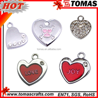 Factory direct sale heart shaped pendant bola pendant for pregnant women