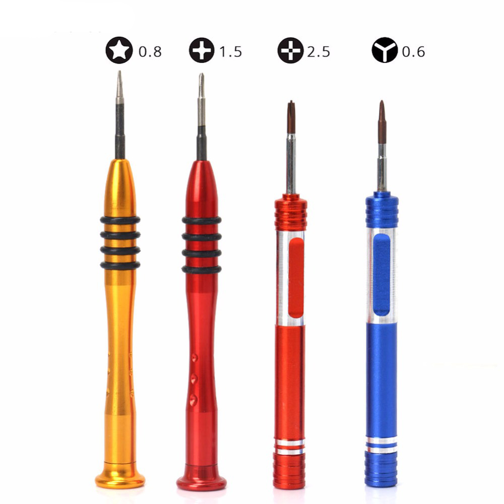 12pcs mobile repairing tool with Tool Box Case Screwdriver Set opening tools kit for cellphone