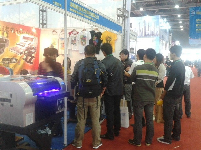 softtextile t-shirt printing machine with fabric ink made in china