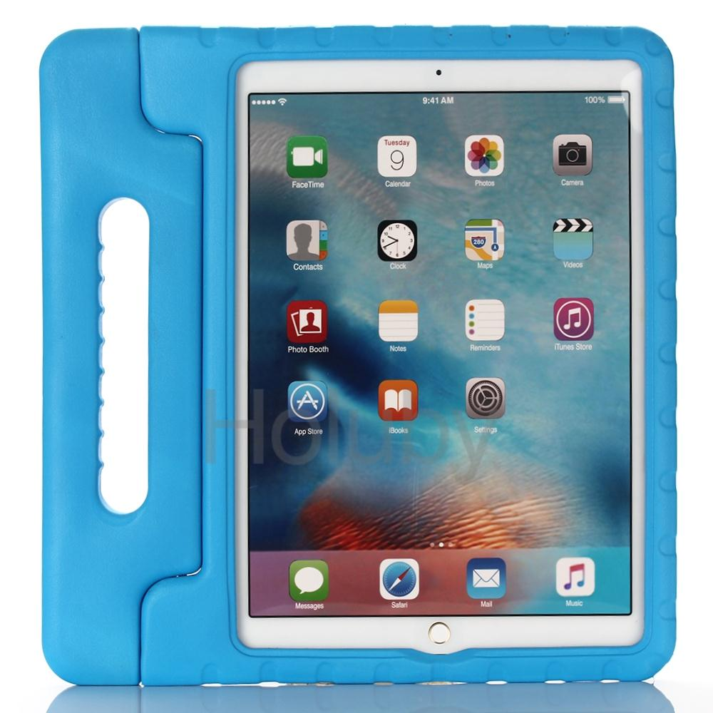 tablet accessories wholesale Children Anti-throw Portable Foam Handle Stand Protective Case for iPad Pro 12.9inch