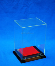 clear acrylic shoe display case