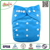 Ohbabyka New One Size Baby Cloth Diaper One Pocket Reusable Cloth Nappies Washable Diapers
