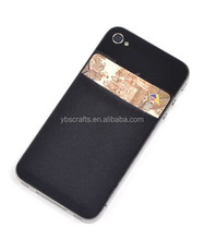 Newest Design lycra+ miscrofiber phone wallet case