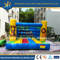 Inflatable animal cartoon bouncer, customized inflatable kids bouncy castle mini bouncer for kids