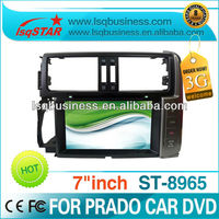 Car Bluetooth driver for Toyota Prado 2010 with GPS DVD MP4 IPOD DVB Radio MP3 player,ST-8965
