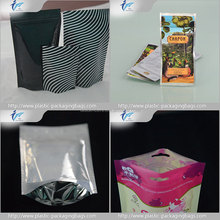 Alibaba supplier ziplock packing plastic bag for clothes wholesale