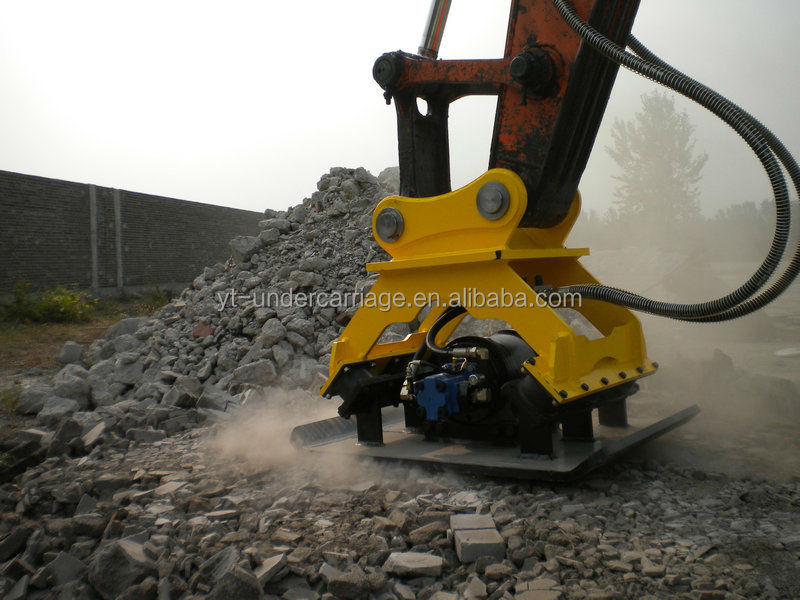 hydraulic press compactor ,4-30 ton excavator high speed ramming compactor