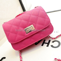 Popular Ladies Colorful Shoulder Bags with Long Handles