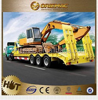 China Made Electoric Flatbed Truck Trailer As Transporter For Casting/Foundry Plant , trailer dimensions and truck prices