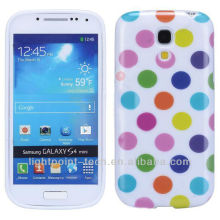 new arrival Polka Dot TPU Case for samsung galaxy s4 mini case