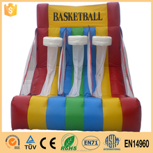 Quality Products 2016 New Design Inflatable Carnival Games /basketball game
