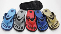 Changeable Back Strap With Finger Print Man's Flip Flops, High Quality Changeable Back Strap Man's Flip Flops
