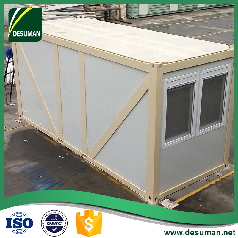 DESUMAN furnished portable guard security cabin booth room container van house
