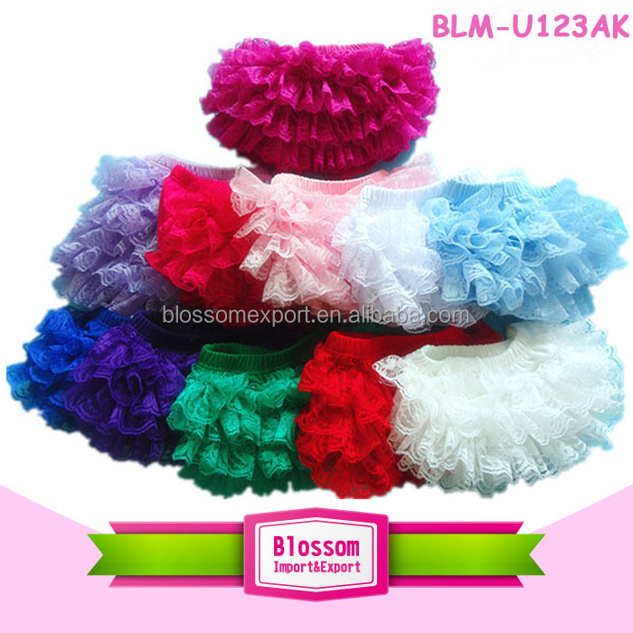 Baby diaper wholesale baby lace bloomers