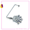 Custom fashion crown shape rhinostone purse bag hanger holder hook