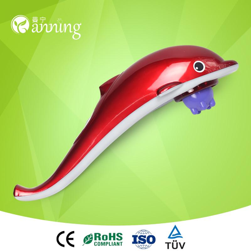 High grade big dolphin infrared massager,big dolphin massage hammer,bio current electric stimulation massage machine