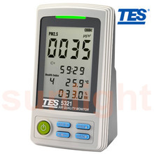 TES-5322 PM2.5 Air Quality Monitor with USB Datalogger