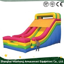 Popular And Crazy giant bouncy castle/inflatable water slide