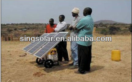 mineral water purifier with solar panel manchine
