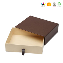 High quality custom slide box packaging for wallets drawer box