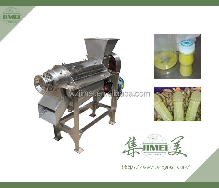 2015 stainless steel screw type juice extractor for fruit and vegetable