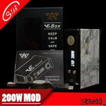 High quality ecig vaporizer pen 200w box mod 200 watt mod with factory price
