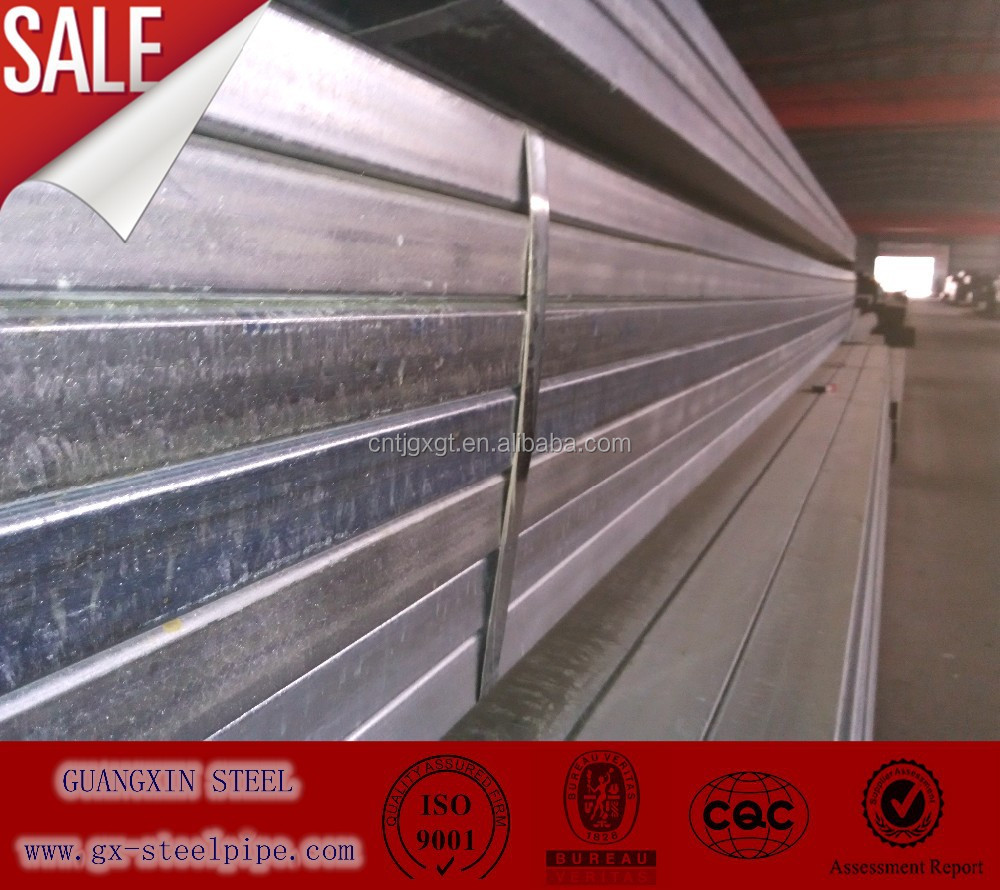 Galvanized steel pipe for greenhouse frame/galvanized steel pipe fitting dimensions