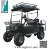 utility buggy, 4 Seats with Foldable Seat, Eg2020asz, in camo color