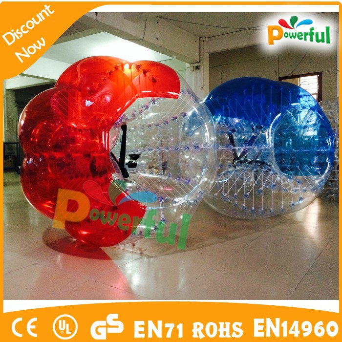 Crayz!!!high quality and durable hanging ball chair bubble/inflatable belly bumper ball/loopy ball