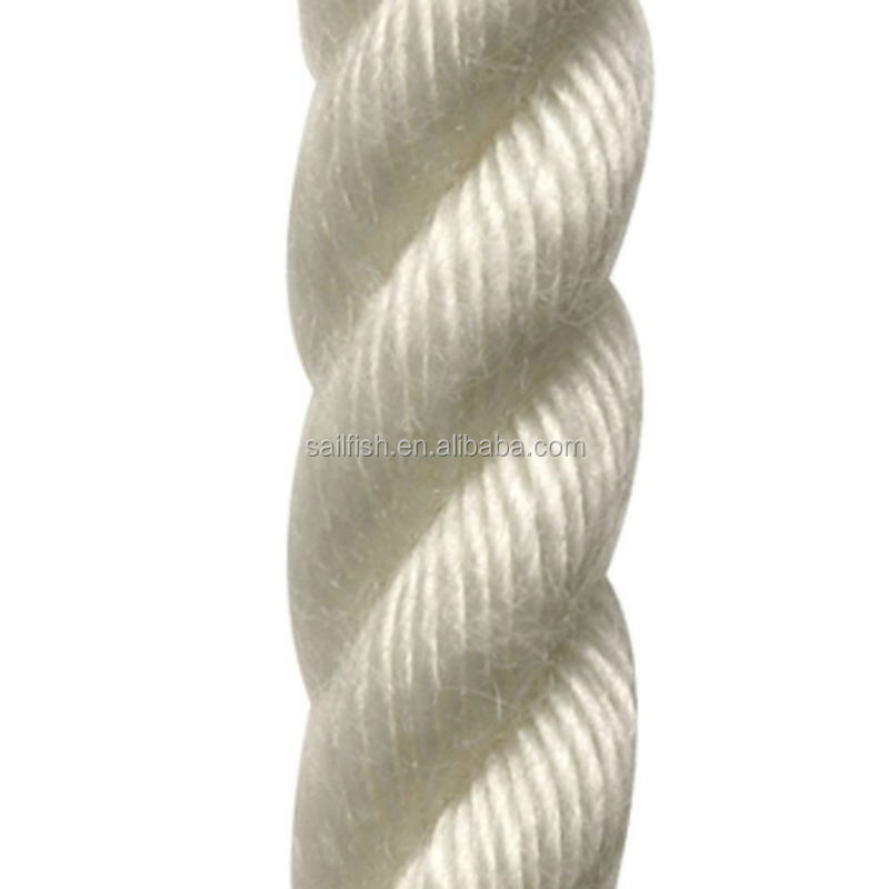 3 strand Nylon Rope for Mooring