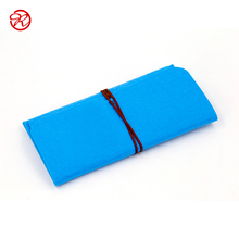 Alibaba online shopping custom felt free sample blue phone case
