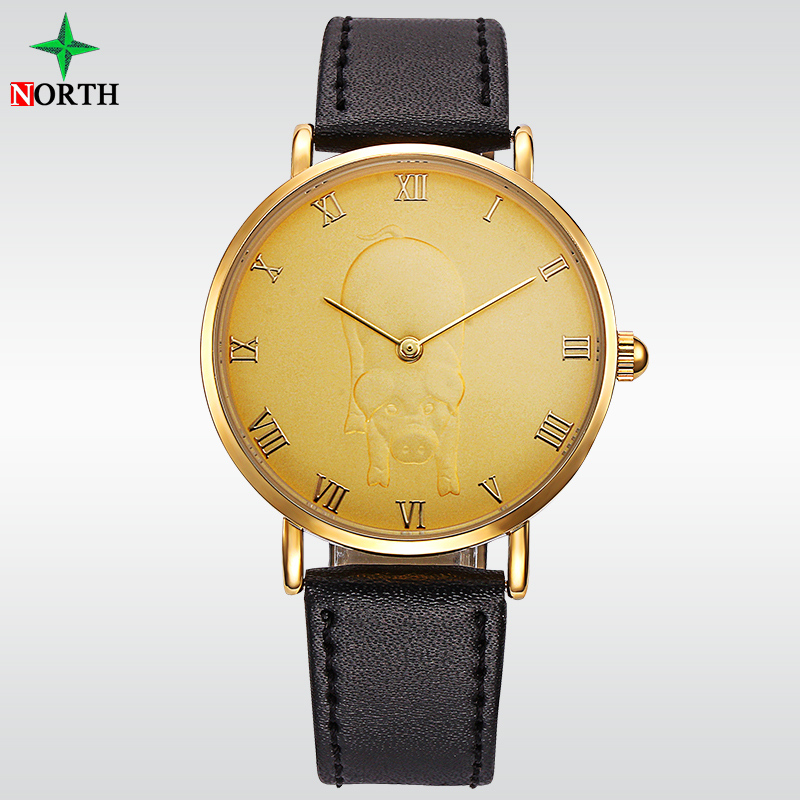 Hot Sale Fashion Zinc Alloy Gold Fancy Quartz Hand Watches for men and lady