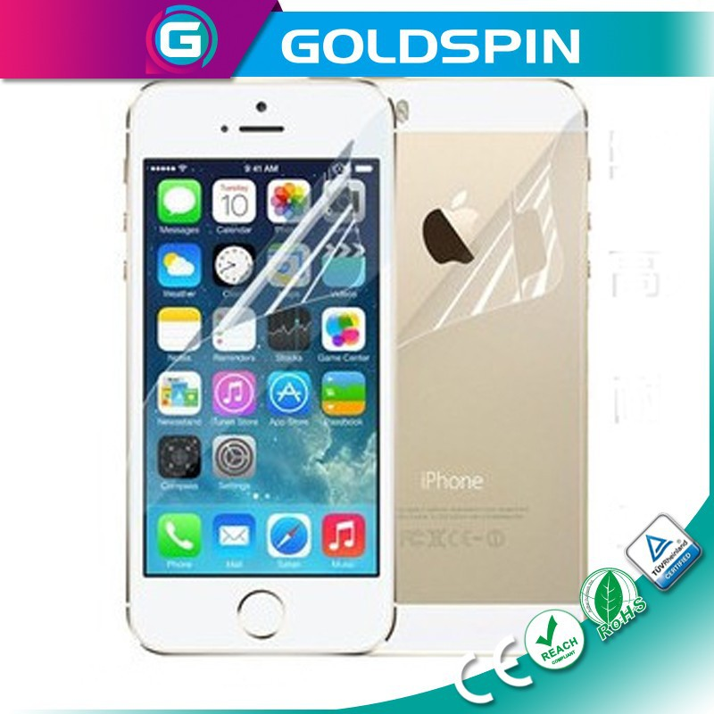 GOLDSPIN Top Material Full Cover For iPhone 5s Screen Guard