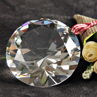 Crystal Diamond Cut Paperweights MH-9361