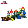 2018 new design water park slide playground with Water spray device