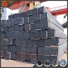 S235jr carbon steel welded square tube/tubing, hollow section square bar, black steel square tube