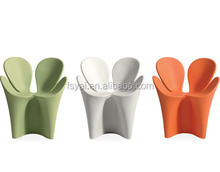 European style dining leisure petal designed Modern Ron Arad Fiberglass Clover Chair
