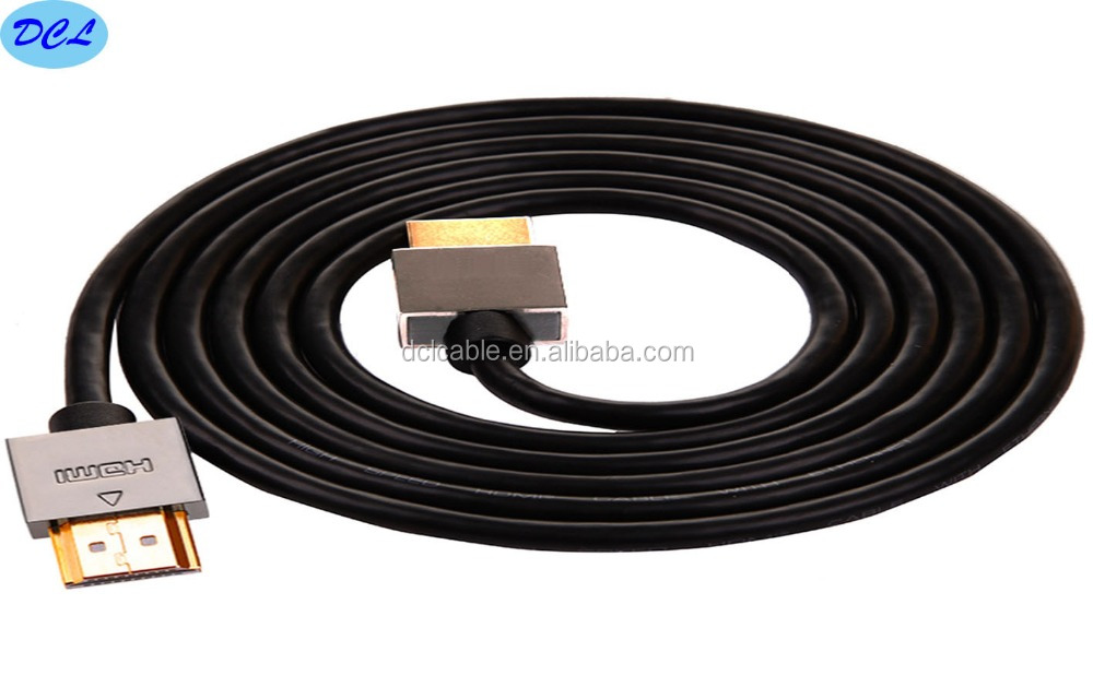 High Quality Metal slim hdmi cable