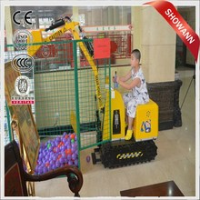 CE,ISO approved superior quality children toy excavator/children's cart excavator