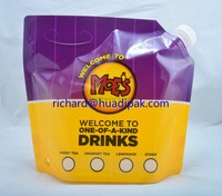 0.5 Gallon Stand up Drink Bags