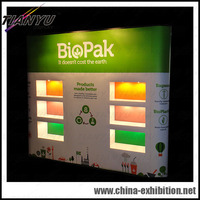 advertising fabric or PVC magnetic pop up display
