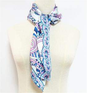 Fashion Customized Printing Square Silk Scarf Wholesale China