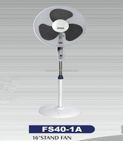 Top quality electric 16 inch AC standing type air cooler fan without misting