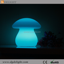 Solar Power Illuminated LED Mushroom Night Lamp