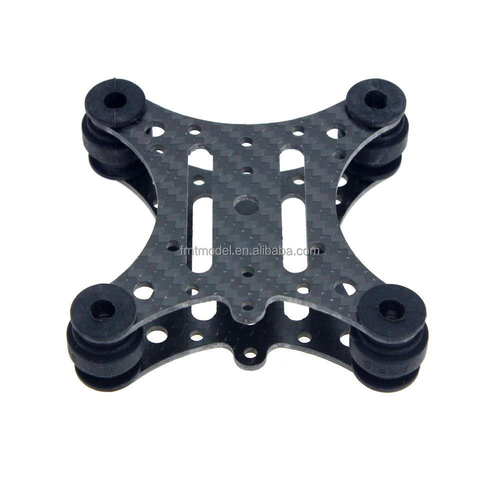 Wholesale FPV Carbon Fiber Anti Vibration Plate & Rubber Balls for DJI Phantom 1 2 Gimbal Mount Quadcopter Gopro Hero 2 3 PTZ FS