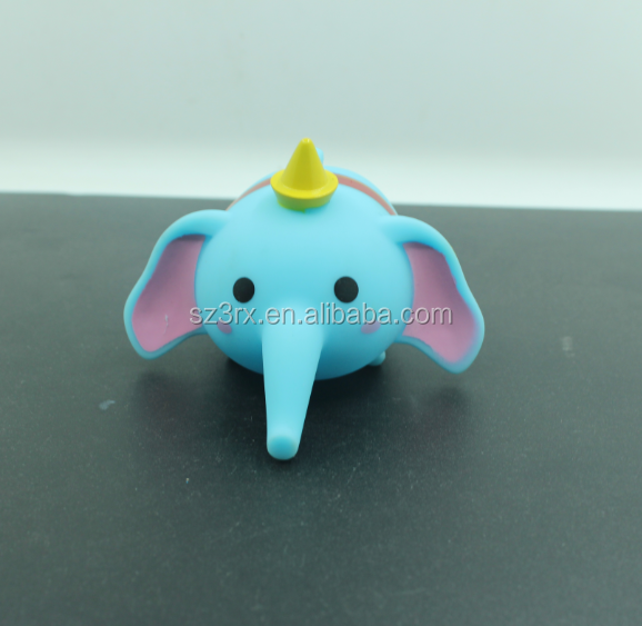 Hot New Cute Blue Elephant Pop Vinyl Toys/Wholesale Plastic PVC Vinyl Toys/Custom Rotocasting Vinyl Toy Vendor