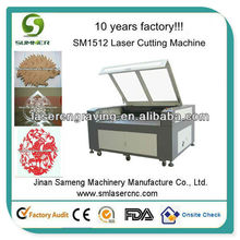 CO2 CNC Laser Engraving Cutting Wood For Furniture,Advertising,Model,Art Craftworks